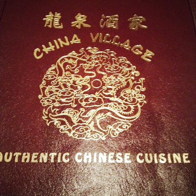 Menu from China Village